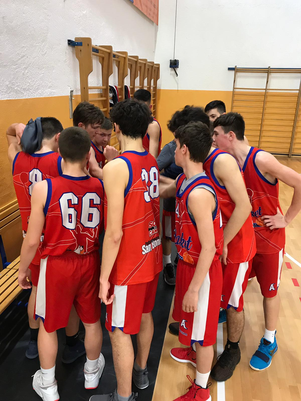 U16 fine vs Olimpia GB